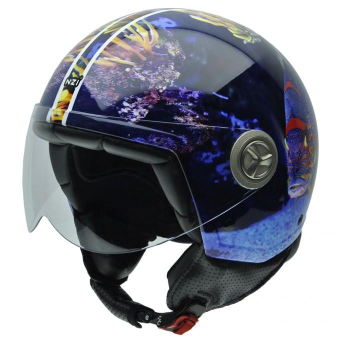 NZI Κράνος Zeta 3D Aquarium ΚΡΑΝΗ